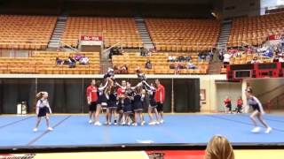American Pride Rockets OSU All Star Cheer Competition Junior Level 2