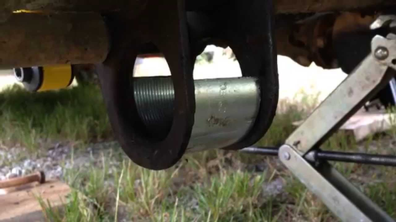 Volvo 240 Trailing Arm Bushing Youtube