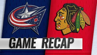 Panarin leads Blue Jackets past Blackhawks