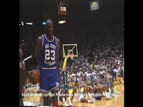 Michael Jordan super sensational slam dunk (very rare/exclusive footage) by Keith O'Derek.mp4