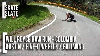 William Royce in Colombia - Raw Run - Skate[Slate].TV