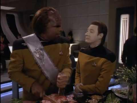 TNG Data trolls Worf (Liaisons)