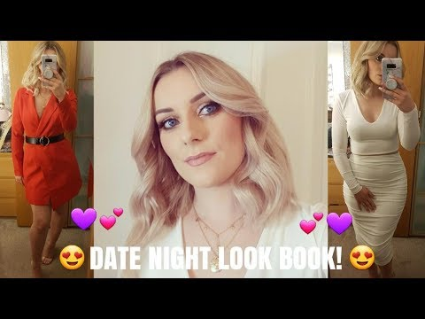 DATE NIGHT LOOKBOOK 2019   NIGHT OUT OUTFIT IDEAS   LEATHER LOOK