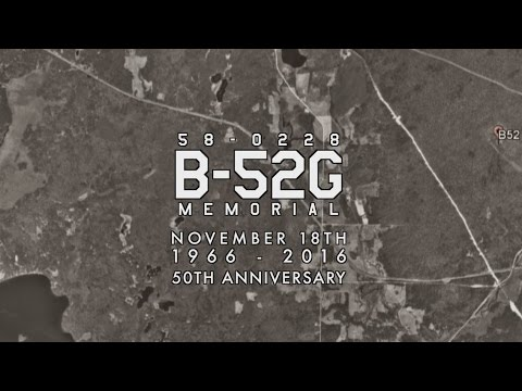 B-52  Crash Stone Lake, WI | 58-0228 | Memorial | November 18th | 1966-2016