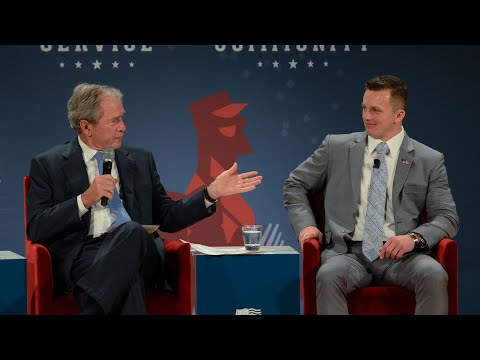 A Conversation with President George W. Bush