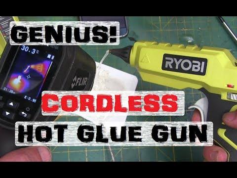 BOLTR: CORDLESS HOT GLUE! | RYOBI