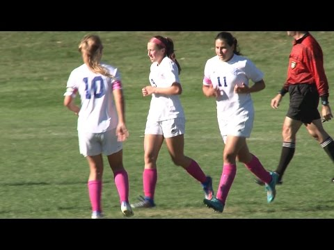 10 10 16 Bergen County College vs Sussex County Community College Womens Soccer