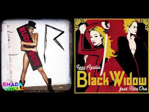 Rihanna Vs. Iggy Azalea Ft. Rita Ora - Rude Widow