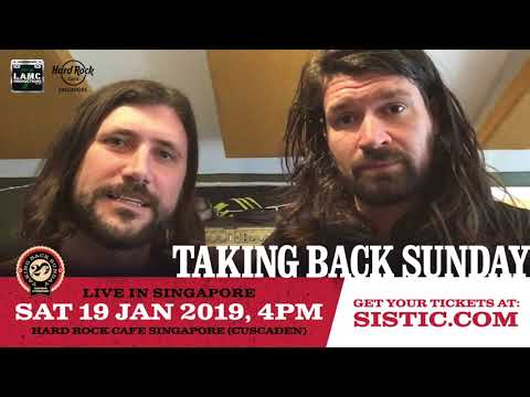Taking Back Sunday - Live in Singapore Video Greeting Mp3