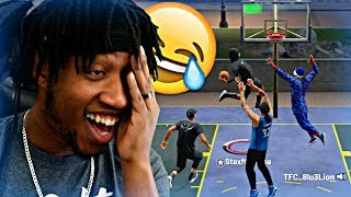 MY TRASH TALKING MAKING THEM WANT A REMATCH! TROLLING SUBSCRIBERS PART 2! - NBA 2K19 MyPARK
