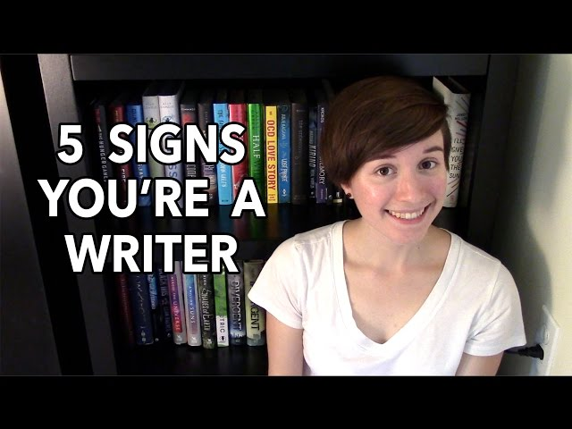 5 Signs Youre a Writer