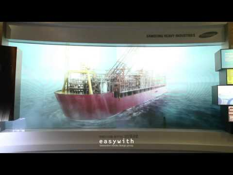 EXPO2012 Samsung Heavy Industries Experience Booth