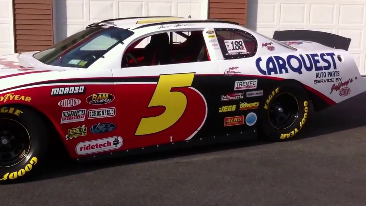 Street legal NASCAR - YouTube