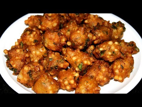 Sabudana Punugulu || Saggubiyyam Punukulu Recipe