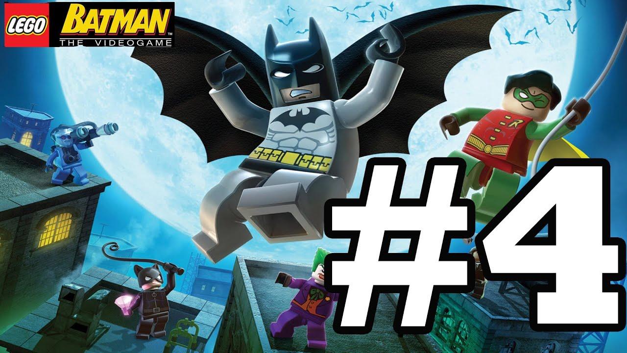 LEGO BATMAN Walkthrough Ep. 4 W/Blitzwinger - We Drive the ...