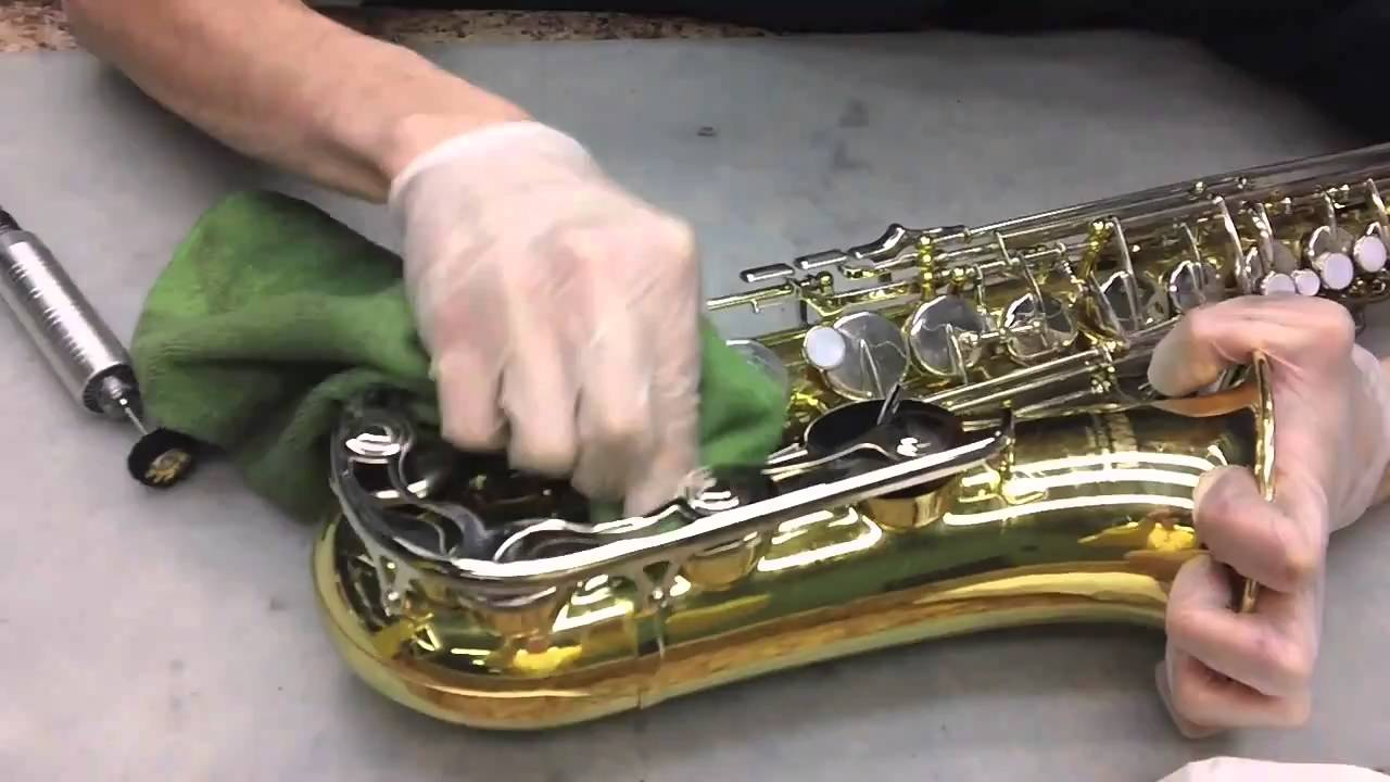 Sax Cleaning Youtube