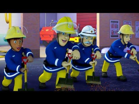 Download Youtube: Fireman Sam New Episodes | Ice Hockey Meltdown! - Best Teamwork Saves | Season 10 🚒 🔥 Kids cartoon