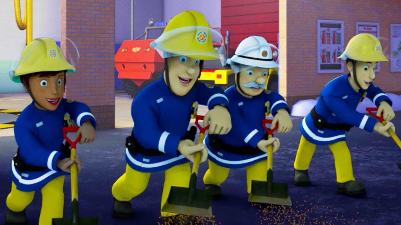 Download Fireman Sam New Episodes | Ice Hockey Meltdown! - Best Teamwork Saves | Season 10 🚒 🔥 Kids cartoon