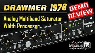 Analog Multiband Saturator & Width Processor Drawmer 1976 Review - Analog Warmth for Digital Music
