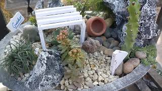 hello friends if you like my fairy garden ideas so hit like and sub...