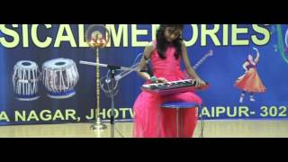 Keyboard Recital by Rhythm Student