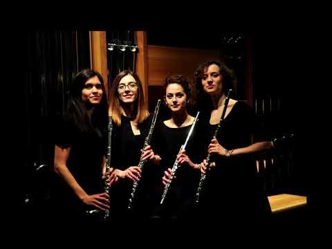 Enigma Flute Quartet - E. Schulhoff: Fünf Stücke Für Streichquartett (arr. Marina Novak), Alla Czeca
