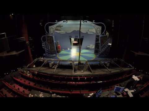 English Theatre Frankfurt: Monty Python's Spamalot TIMELAPSE