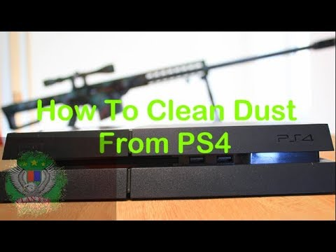 How to Clean Your PS4 Fan - CLAN YES