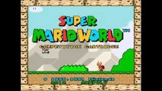 Super Mario World Competition Cartridge - First Attempt - 1731 Points