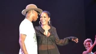 Pharrel Williams And Sheila E !!! LIVE !!!