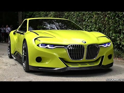 BMW 3.0 CSL Hommage WORLD DEBUT – Start Up Sound, Rev, Overview & Driving