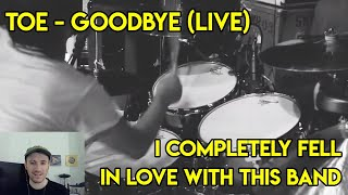 Drum Teacher reacts to toe - Goodbye (Live At The Regent)