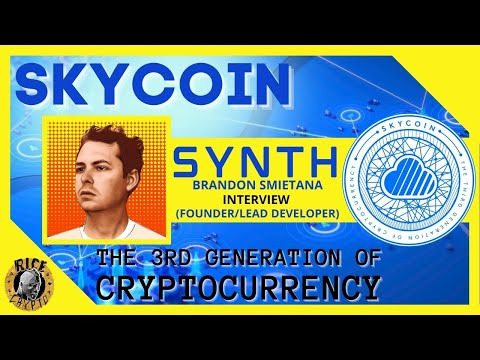 Skycoin: The 3rd Generation Of Crypto & Blockchain (Synth Interview)