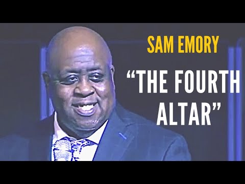 "Pastor Sam Emory preaching on ""The Fourth Altar/Sacrifice"""