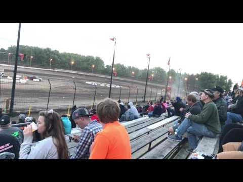 Super latemodel heat race #2 at sycamore speedway