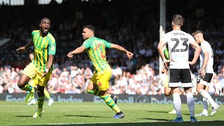 Fulham v West Bromwich Albion highlights