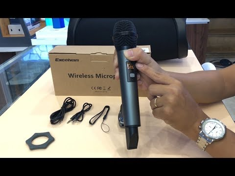 Mở hộp đánh giá Test Mic Karaoke K18V Bluetooth Thần Thánh nhất 2018