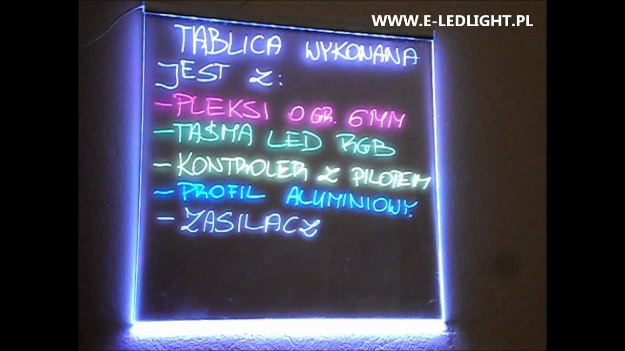 Góra TABLICA REKLAMOWA LED WARSZAWA E-LEDLIGHT - YouTube RZ39