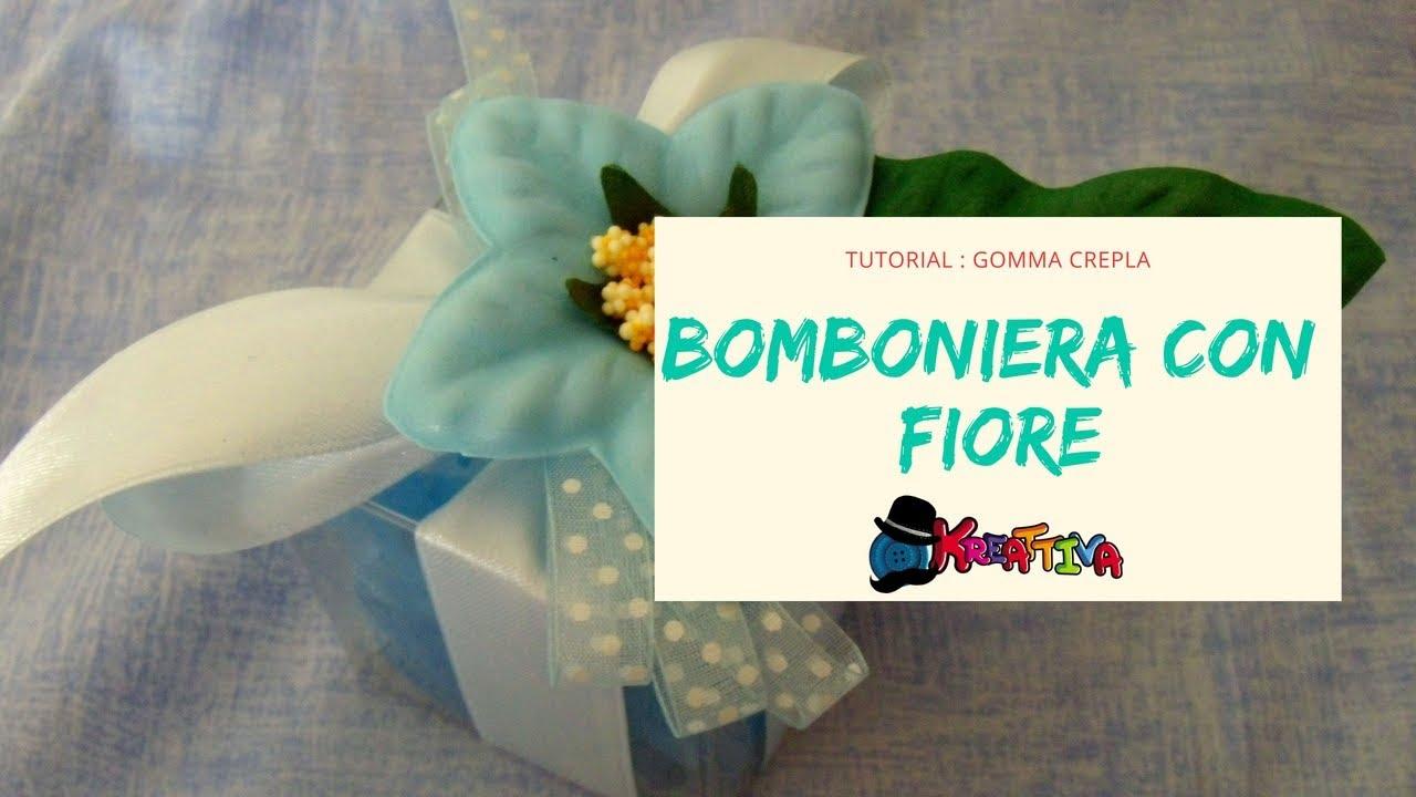 Bomboniere fai da te fiori in gomma crepla tutorial for Inferriate fai da te