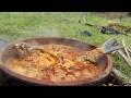 Fish Curry - Cooking an full Fish - Country Foods