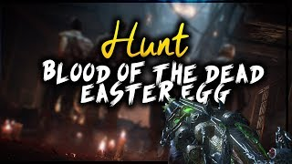 "SHOCK AND DENIAL SOLVED !!! | BLACK OPS 4 ZOMBIES | ""BLOOD OF THE DEAD MAIN"" EASTER EGG HUNT"