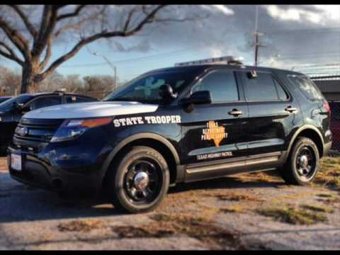 Texas DPS Cars Then And Now