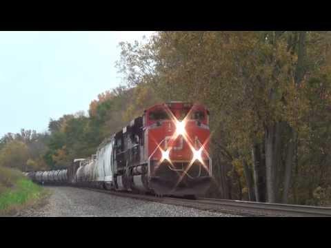 NS 6122 LHF Norfolk Southern 3317 CN 8910 NS 8155 Train Railroad