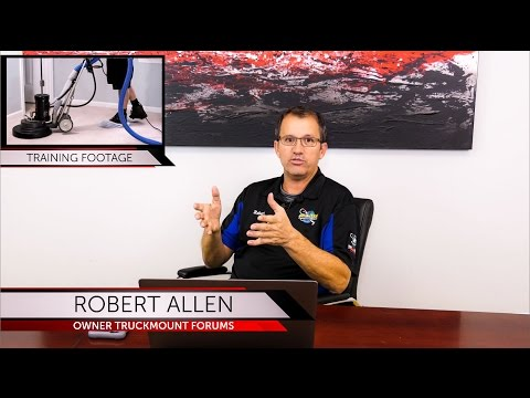 Online Carpet Cleaning Training (and other services) PLUS Video Systems for Cleaners!
