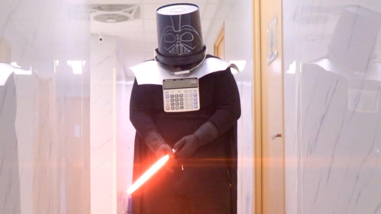 EPIC SCHOOL FIGHT 🔥 中二病 Star Wars : Attack on Death Star スター・ウォーズ