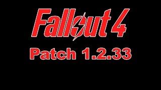 Скачать Установить Fallout 4 Patch 1.2.33