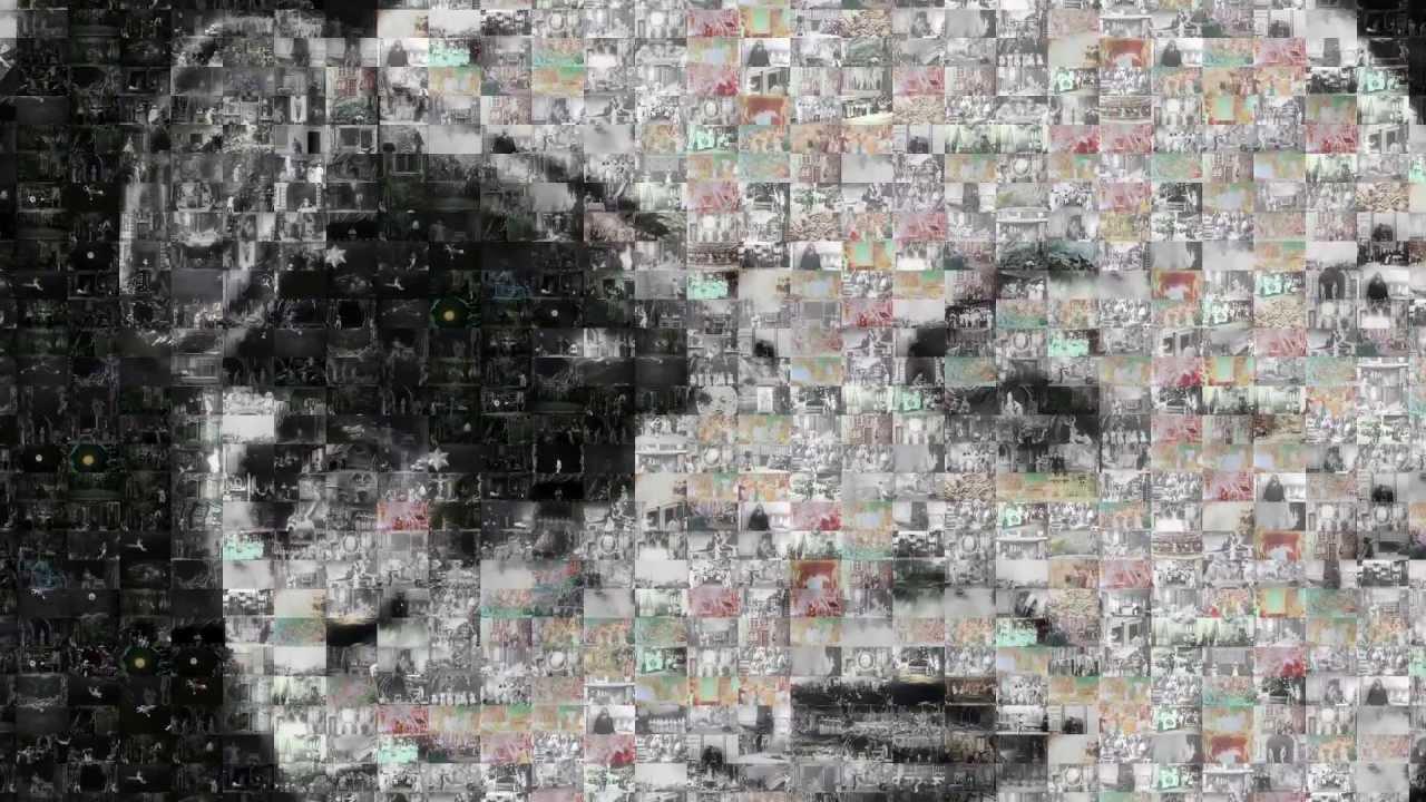 Mazaika-Video  Create mosaic movie clip from movie clips