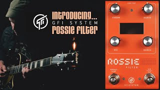 Demos in the Dark // GFI System Rossie Filter // Guitar Pedal Demo