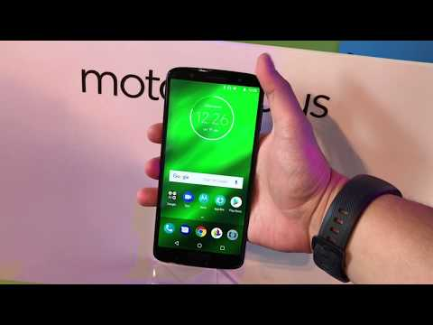 Hands on Moto G6 Plus en español