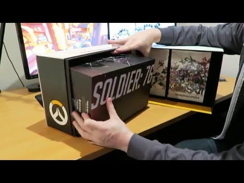 OVERWATCH COLLECTORS EDITION UNBOXING!